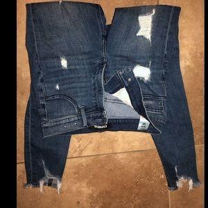 Darn Denim Highrise Skinny Jeans Express